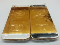 Wholesale New Arrival For G K Gold Plating Housing Back Battery Door Cover for iphone G