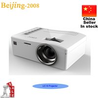 Wholesale UNIC UC18 Ultra Mini projector HD1080P Video Projector Multi language Home Thearter Cinema Multi language projectors