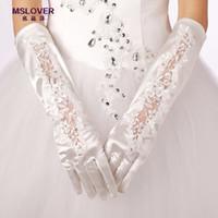 air beads - 2016 Bridal Wedding Gloves cheap bridal dress wedding decoration special gloves gloves high hot air HY00119