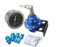Wholesale Fuel Pressure Regulator Fuel Regulator The black gauge with SARD brand Blue silver red golden
