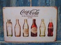 metal wall decor - Cola Bottle est Metal Tin Sign Wall Decor Man Cave