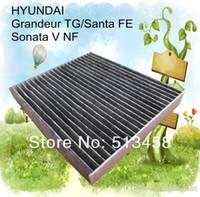 acura auto parts - CUK2362 low price black carbon car cabin air filter for Hyundai Z auto part cm AC A3