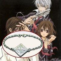 Wholesale Athemis Rhombus pendant Bracelets same as Vampire Knight Kurosu Kuran Yuki fashion Jewelry and cosplay accessories