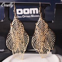 american baroque - Luxury Designer Baroque Dangle Chandeler Earrings Jewelry Leaf K Gold Silver Filled Earring for Lay Girl Party Jewelry
