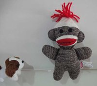 sock monkey - Hot Sales Schylling Screaming Superfly Cute Stuffed Dolls Slingshot Sock Monkey Soft Plush Toys For Children Christmas Gifts cm