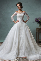 Cheap lace wedding dress Best Amelia Sposa
