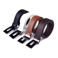 Wholesale women strap men belt brand classic fashion dress trousers jeans genuine PU leather men s belts men slender straps