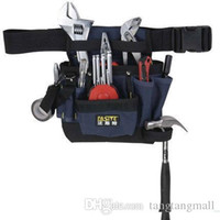 Wholesale New Multi function Canvas Electrician Tool Pouch Electrical Maintenance Package Waist Tool Bags PT H2776