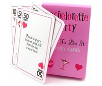 bachelorette party candy - 100sets Party Gift of Bachelorette Dare to Do It Activity Cards includes a deck of dares Wedding Party favors