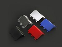 Wholesale 500PCS Multicolor Controller Battery Door Shell Cover Replacement Part for Xbox One DHL FEDEX