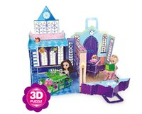 3d puzzles - Fashion D Puzzle House For Monster Dolls Fantasy House Playset Build Paper Craft Doll House Furniture Gift Set Girl Toys