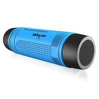 audio power supplies - Newest Mini Portable Speaker Wireless Waterproof Bluetooth Outdoor Flashlight Power Supply Audio Speaker with SD card