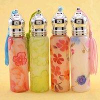 Wholesale ML Roll on Print Perfume Bottles Glass Empty Small Perfume Refillable Bottle