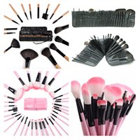 baby powder brush - Brand Professional Bag Of Makeup Set Gift Kits Facial Make Up Sets Cosmetics Baby Lipstick Powder Brush Brushes Case