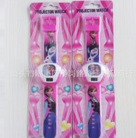 ice watches - 2014 New Fashion Frozen Watch Projection watch FROZEN ice colors Dairy queen children watch digital watches Frozen digital watches