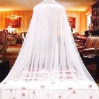 Wholesale Foldable Dome Elegant Polyester Bed Netting Canopy Circular Mosquito Net Home Decoration Fast Shipping