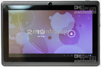 Wholesale 7 Inch Quad Core A33 Tablet Allwinner Android Capacitive GHz MB RAM GB ROM Dual Camera WIFI Tablet PC DHL Freeshipping MQ100