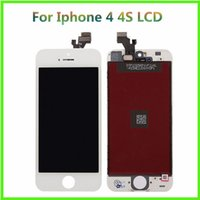 Wholesale Display For IPHONE G LCD Screen Cell Phone Parts Touch Panels Assembly For iPhone s Digitizer Cell Phone Accessories Repair Parts