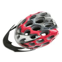 Wholesale 41 Vents Road Race Hero Bike Cycling Safety Helmet with Visor Adult Unisex