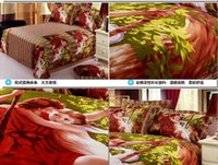 bedding sets suppliers - 2016 New Arrival Romantic Lovely Hug Between Boys And Girls D Print Pieces Cotton Bedding Sets Bedding Suppliers