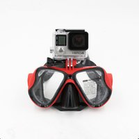 Wholesale F15540 TELESIN Diving Glasses Dive Scuba Mask Mount Accessories For Gopro plus SJ4000 Xiaomi yi Sports Action Camera