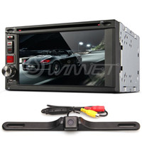 Wholesale Universal quot Car DVD Player In Dash DIN Touchscreen p Rear Camera Bundle