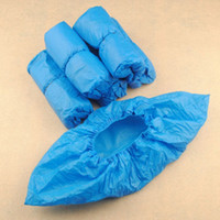 Wholesale Elastic Disposable Plastic Protective Shoe Covers Carpet Cleaning Overshoe YT0083 salebags