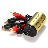 Wholesale Hot Sale Noise Filter Install Car Audio Stereo Radio Amplifier Ground Loop Isolator A