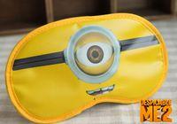 Wholesale minion eye patches kids casual eyeshade minions eye mask for sleeping cute eye patch baby minion eye mask D1445