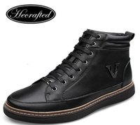 Wholesale Size Genuine leather Fashion brand men shoes luxury brand casual