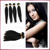 Wholesale Remy Human Hair Weave Brazilian Indian Peruvian Malaysian Virgin Bulk Hair Unprocessed Straight Brazilian Hair Extensions