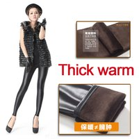 Wholesale Women Thick Warm Leggings Fashion Women Tights Leggings Pants Winter Warm Stylish Tights