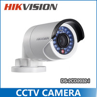 ip - Hikvision DS CD2032 I Outdoor IP Camera mm lens P MP IR Bullet IP camera POE V5