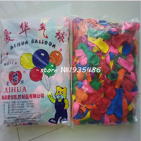Wholesale Hot No3 small balloons ball round latex balloon Christmas balloons in the air wedding party toy bomb apple