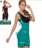 hot shapers - 2015 Full Body Shapers Waist Training Corsets Neoprene Waist Trainer Hot Plus Size Women Butt Lifter With Tummy Control Shapewear