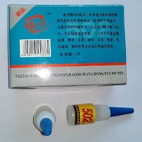 Wholesale 502 Super Glue Instant Quick drying Cyanoacrylate Adhesive Strong Bond Fast For Leather Rubber Metal g Z347