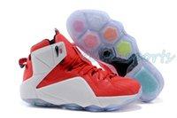 Wholesale LB Heart Of a Lion Basketball Shoes Men Lebron Lion Heart Sneakers LBJ LB12 Sports Shoes Lebron Shoes LB Athletic Shoes Size US7