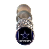 Wholesale Dallas Cowboys quot Kitchen Herb Spice Tobacco Grinder Piece Metal Crusher