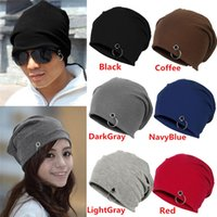 best garden sale - Best Sales Fashion Unisex Women Men Winter Ski Hat Slouch Baggy Hip Pop Knit Crochet Cap Beanie FX271