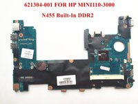 Wholesale Original laptop motherboard for HP MINI110 motherboard N455 Built in DDR2 Fully tested