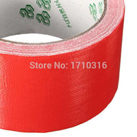 Wholesale 2016 Lowest Price Colorful Durable Single Side mm x m Duct Gaffa Gaffer Waterproof Self Adhesive Repair Cloth Tape