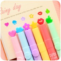 Wholesale 36pcs Nice highlighter Color stamp Marker pens DIY scrapbooking tools zakka Stationery Office Photo album School supplies p018