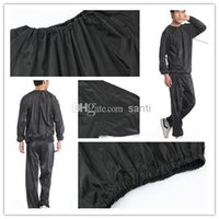 slimming sauna suits - Fashion Hot Weight loss sauna suit sweat clothes clothing men and women lose weight slimming Workout clothes diet