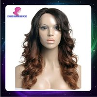 Cheap Ombre Color full lace human hair wigs Best Body Wave Brazilian hair lace front hair wigs