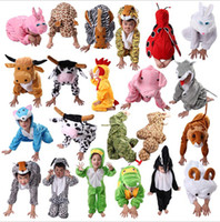 Wholesale New Arrival Styles Animal Disfraces Cosplay Halloween Costumes For Kids Children s Christmas Clothing Boys Girls Cosplay Costume T Y