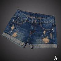 ashley women - 2015 Jeans Shorts Women Straight leg pants Hemming Ashley Tisdale New Style Loose and Comfortable Elastic