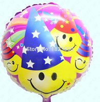 aluminum foil hat - inch aluminum film balloon foil balloon hat birthday holiday party balloon decoration cartoon toy