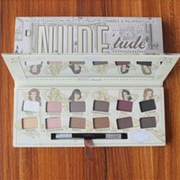 the balm cosmetics - The Balm Cosmetics Nude Tude Nice Naughty EyeShadow Palette Highlighter Face Shadow Bronzer Beauty Makeup Blender DHL Free