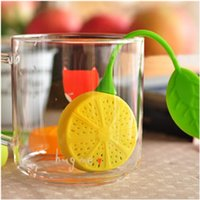 coffee filter - Reuseable Silicone Lemon Shape Tea Bag Infuser Holder Tea Coffee Filter Strainer Tea Ball Infusers Kitchen Accessories
