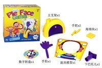 Wholesale Pie Face Game Novelty interest paternity toys Catapult Game Consoles Korea Running Man Pie Face Game Pie Face Cream On Her Face dhl